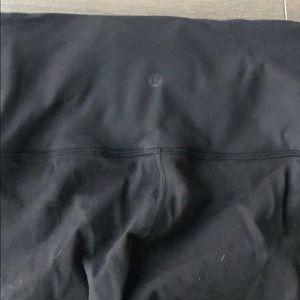 lululemon athletica Pants - Lulu lemon high waisted leggings conch tie legs